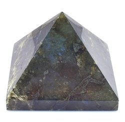 Labradorit pyramida 63 x 62 mm